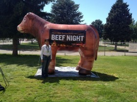 Carmen is a big supporter of Idaho's beef industry; rarely missing a meeting, trade show, or producer event!
