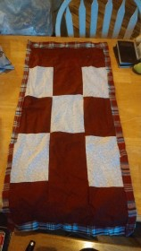 The darned dollie quilt!