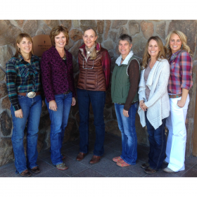 What a great looking group of women, helping to further Idaho's cattle industry! From left to right: Chyenne Smith, wife of ICA Board Member Jay Smith; Laurie Lickley, newly elected ICA President; Linda Rider, ICA Board Member; Dawn Anderson, newly elected ICA Purebred Council Chair; Megan Satterwhite, newly elected ICA Cattlewomen Council Chair; and Jessie Jarvis, newly elected ICA Board Member.