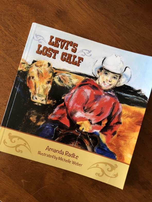 Levi's Lost Calf book