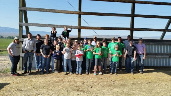 Participants of the 2015 Rangeland Skill-a-thon.