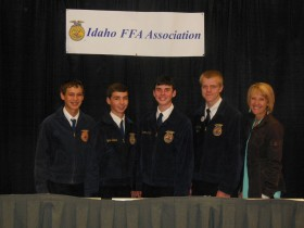Jodie credits her students and FFA chapter members, as being one of her life's biggest motivations.